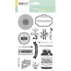Le temps des cerises - Clear Stamps by Kesi'art