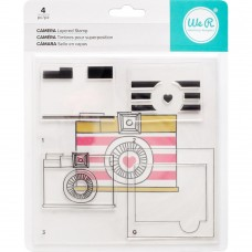 Camera - 4 Clear stamps by We r Memory Keepers
