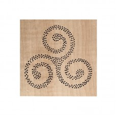 Chou & Flowers Wood Mounted Stamp - Triskel