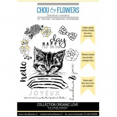 Stamp set by Chou & Flowers - Chat marin