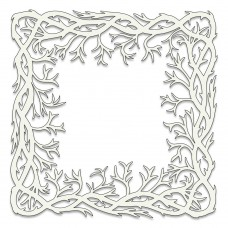 Clarity Stamps Stencil - Seaweed Frame