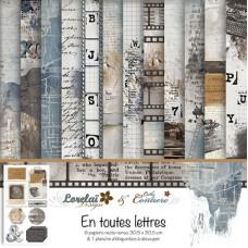 Collection 'En toutes lettres' de Lorelaï Design & Cathy Contiero