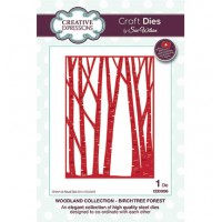 Creative Expressions Die - Birch Tree Forest