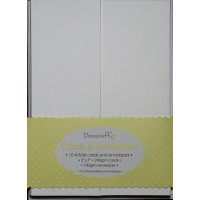 10 tri fold cards & envelopes