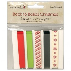 Dovecraft Back to Basics Christmas Traditional - Ruban