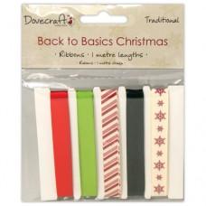 Dovecraft Back to Basics Christmas Traditional - Ribbon
