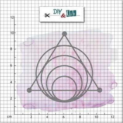 DIY & cie die - Geometric