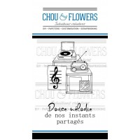 Chou & Flowers Clear stamps - Douce melodie