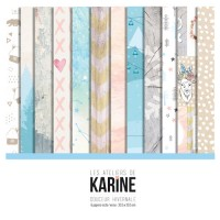 Douceur Hivernale collection de papiers: Ateliers de Karine