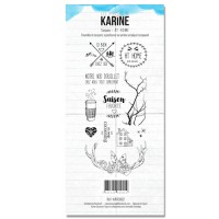 At Home Clear stamps - Douceur Hivernale: Ateliers de Karine