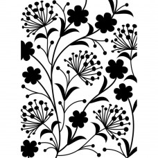 Dandelion Darice Embossing folder