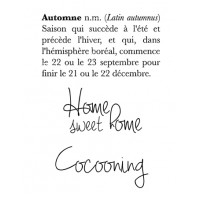 Definition d'Automne - stamps by Lorelaï Design