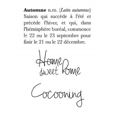 Definition d'Automne - stamps by Lorelaï Design