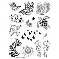 Designs by Ryn unmounted stamps - Sea creatures 1