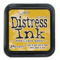 Distress Ink – Fossilized Amber
