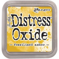 Distress Oxide Ink – Fossilized Amber