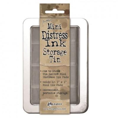 Mini Distress Ink Storage Tin
