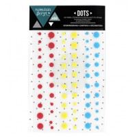 Florilèges design self-adhesive Dots - Spring
