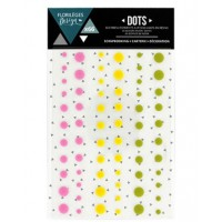 Florilèges design self-adhesive Dots - Summer