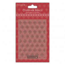 Snowflakes A6 Embossing folder
