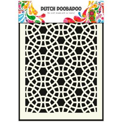 Mosaic A5 Template by Dutch Doobadoo