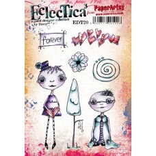 PaperArtsy stamps EDY20 mounted on EZ foam