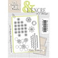 Cozy Textures clear stamps by L'Encre et L'Image