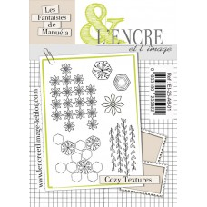 Cozy Textures clear stamps by L'Encre et L'Image