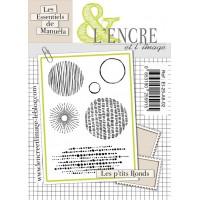 Les P'tits Ronds clear stamps by L'Encre et L'Image