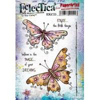 Eclectica {Kay Carley} EKC25 PaperArtsy Stamp
