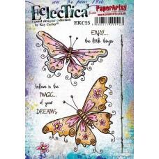 Eclectica {Kay Carley} EKC25 PaperArtsy Tampon