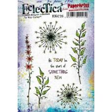 Eclectica {Kay Carley} EKC26 PaperArtsy Tampon