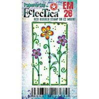 Eclectica {Kay Carley} Mini 28 PaperArtsy Stamp