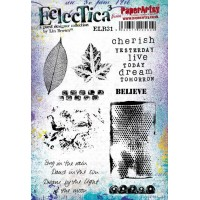 PaperArtsy stamps ELB31 mounted on EZ foam