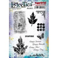PaperArtsy stamps ELB32 mounted on EZ foam