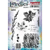 PaperArtsy stamps by Lin Brown ELB33 mounted on EZ foam