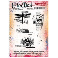 PaperArtsy stamps mounted on EZ foam - ESN21 by Sara Naumann