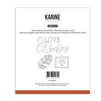Sewing stencil Esprit Bohème Bonheur Etc - Les Ateliers de Karine
