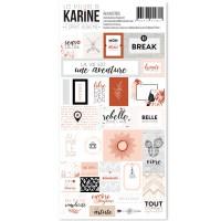 Label Stickers - Esprit Bohème: Ateliers de Karine