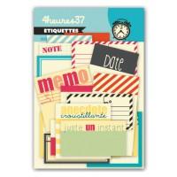 39 Quai Ernest H - étiquettes