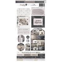 Embellishment sheet 01 'Broderies oxydées' by Lorelaï Design & Cathy Contiero