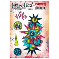 PaperArtsy Stamps Eclectica Tracy Scott ETS10