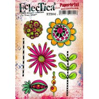 PaperArtsy Stamps Eclectica Tracy Scott ETS06