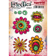 PaperArtsy Stamps Eclectica Tracy Scott ETS07