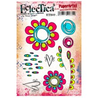 PaperArtsy Stamps Eclectica Tracy Scott ETS09