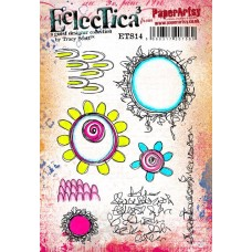 PaperArtsy Stamps Eclectica Tracy Scott ETS14