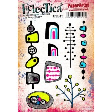 PaperArtsy Stamps Eclectica Tracy Scott ETS19