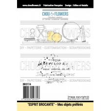 Stamp set 'Mes objets préférées' by Chou & Flowers