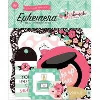 Echo Park Fashionista Ephemera Die-cuts - Icons - 33 pieces