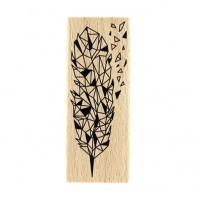 Éclat de plume -  Wood Mounted Florilèges Design Stamp